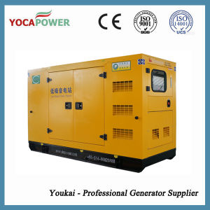 125kVA Silent Home Power Soundproof Diesel Generator Set pictures & photos