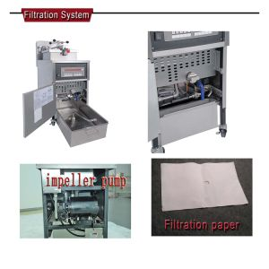 Pfe-600 Used Fryer Filter Machine  , Automatic Deep Fryer, Vacuum Fryer Machine pictures & photos