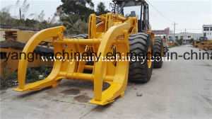 China 1ton 2ton 3ton 5ton Wheel Payloader with Log Grapple pictures & photos