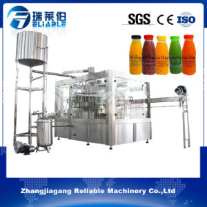 Automatic Pulp Juice Cold Filling Machine for Plastic & Glass Bottle pictures & photos