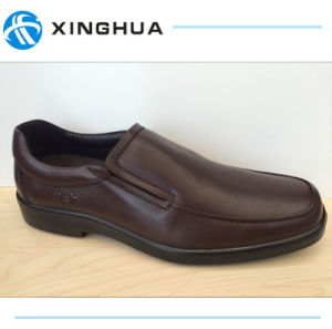 Cheapest Price Black Men Office Shoes pictures & photos