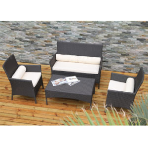 Outdoor Garden Patio Furniture Rattan Lounge Sitting Room Pool Sofa Set pictures & photos