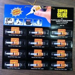 Excellent Super Glue for Metal Plastic Rubber in Aluminum Tube pictures & photos