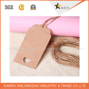 Wholesale Custom Good Price Plastic Paper Jean Hang Tag pictures & photos