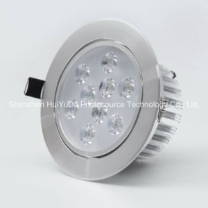 Aluminum+PC AC100-240V 9LEDs Ce RoHS Adjustable LED Spot Light pictures & photos