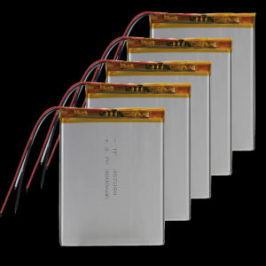 3.7V 3000mAh Li-Polymer Battery PCM Rechargeable for GPS PDA iPod Tablet PC 357090 MP3 MP4 Bluetooth/GPRS/GPS Mobile Phone Battery pictures & photos