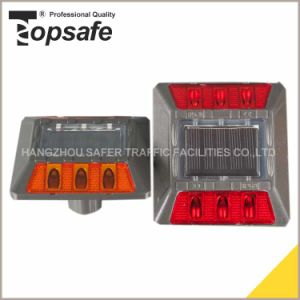 Amber or Red LED Aluminum Solar Road Stud pictures & photos