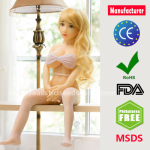 High Quality 100cm Real Silicone Sex Dolls Skeleton Japanese Adult Mini Lifelike Oral Love Dolls pictures & photos