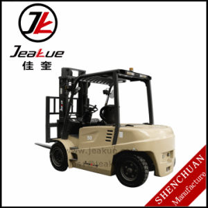 Customerized High Quality 4-6 T Electric Counterbalanced Forklift pictures & photos