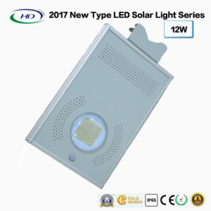 2017 New Type All-in-One Solar LED Garden Light 12W pictures & photos
