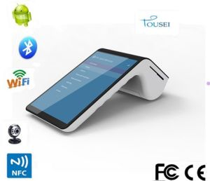 7 Inch Mobile Portable Android WiFi Bluetooth 4G GPS POS Receipt Printer PT-7003 pictures & photos