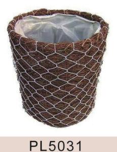 Round Shape Salim Rattan Basket pictures & photos