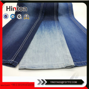 32s Mercerized Spandex Denim Fabric with Slub for Shirt pictures & photos