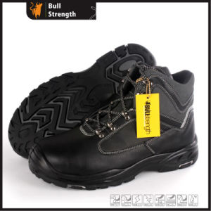 Full Grain Leather Safety Shoes with New PU/Rubber Sole (SN5483) pictures & photos