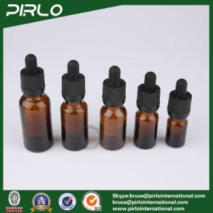 20ml 30ml 50ml 100ml Amber Luxury Glass Bottles E-Liquid Glass Dropper Bottles pictures & photos