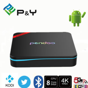 Smart Android Quad Core TV Box Pendoo X8 PRO+ 2g 16g S905X Amlogic Bt 4.0 Dual WiFi 2.4G 5.8g TV Box pictures & photos