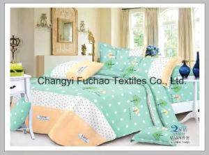 Elegant Bedding Set Twin Size 4PC Duvet Cover Set Microfiber Super Soft Life pictures & photos