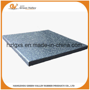 Wear-Resistant Gym Rubber Floor Tiles Rubber Mats pictures & photos