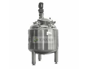 GMP Standard SUS316/SUS304L Pressure Mixing Vessel/Tank pictures & photos