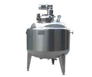 GMP Standard SUS316/SUS304L Pressure Mixing Vessel/Tank