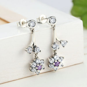 925 Sterling Silver Jewellery Flower Lady Earrings pictures & photos