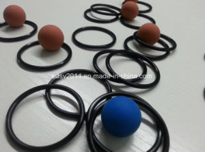 Black Fluoro-Rubber Seal Viton/FKM Ffkm O-Ring pictures & photos