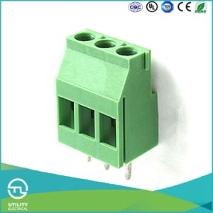 Products Mu2.5h5.0/5.08 Brass Screw PCB Spacer Support Terminal Block pictures & photos