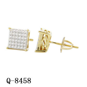 Sterling Silver Hip Hop Jewelry Man Earrings Factory Wholesale pictures & photos
