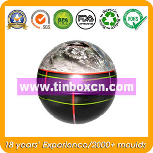 Ball Tin Box, Metal Tin Container, Gift Tin pictures & photos