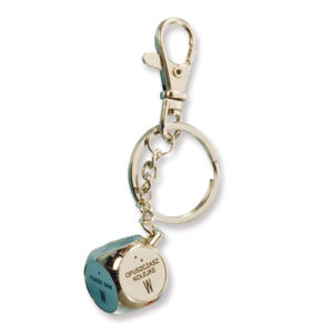 Beautiful 3D Effect with Colorful Set Auger Metal Zinc Alloy Key Chain pictures & photos