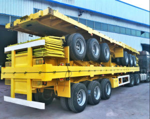 High Quality 3 Axles Cargo Trailer pictures & photos