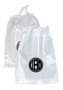 Drawstring Plastic Bags Custom Rope Handle Bags pictures & photos