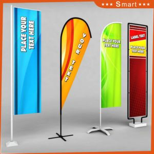 2017 Factory Wholesale Custom Promotional Flag Banner pictures & photos