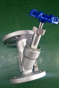 Stainless Steel Handle Angle Piston Valve for Hot Sales pictures & photos