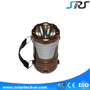 Factory Hot Sell Newest Ultra Bright Solar LED Lantern with Rechargeable Battery pictures & photos