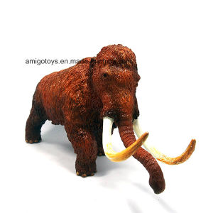 Good Quality Plastic PVC Mammoth Elephant Toy for Childen and Kids pictures & photos