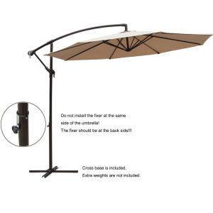 Updated Version 10 FT Patio Umbrella Offset Hanging Umbrella Outdoor Market Umbrella pictures & photos
