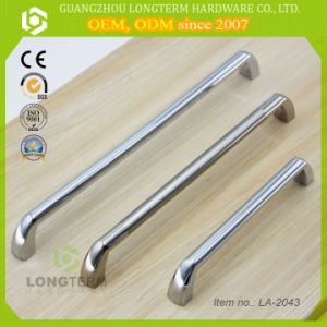 High Quality Solid Zinc Alloy Bar Decorative Handles for Furniture pictures & photos