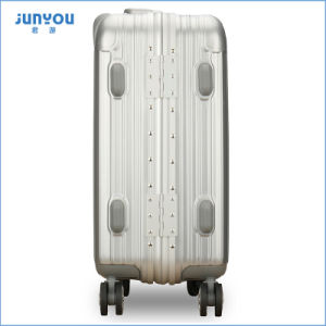 Good Quality and Light Weight 4 Wheels Trolley Luggage, Trolley ABS Luggage pictures & photos