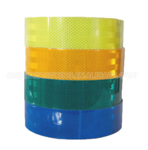 New Arrival Latest Design Micro Prismatic Adhesive Reflective Tape pictures & photos