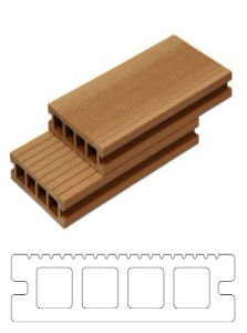 Eco-Friendly Outdoor WPC Decking pictures & photos