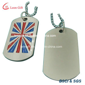 Custom Made Enamel Logo Metal Dog Tag pictures & photos