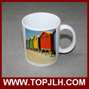 Heat Press Printing 11oz Matte Surface White Mug pictures & photos