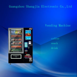 Big Touch Screen Cool Drink Vending Machines