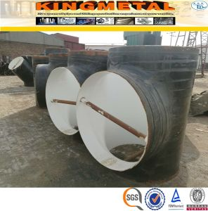 3PE/3PP/2PE/2PP/Fpe/Tpep Coating Carbon Steel Pipe Fittings pictures & photos