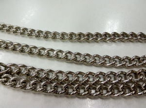 Nickel Plated Steel Twisted Link Chain pictures & photos