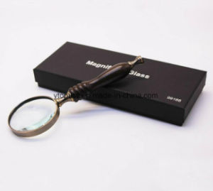 Ebony Handle Retro Retro High Level Handheld Gift Metal Magnifier pictures & photos