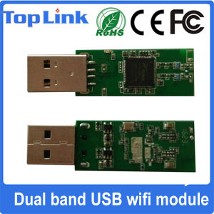 Top-4b Ralink Rt5572 802.11A/B/G/N 300Mbps USB Wireless WiFi Adapter pictures & photos