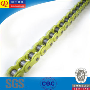 428 Precision Motorcycle Chain with Yellow Color pictures & photos