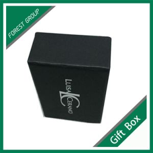 Shanghai Custom Matt Black Drawer Gift Box pictures & photos